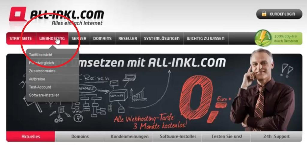 2. Webhosting