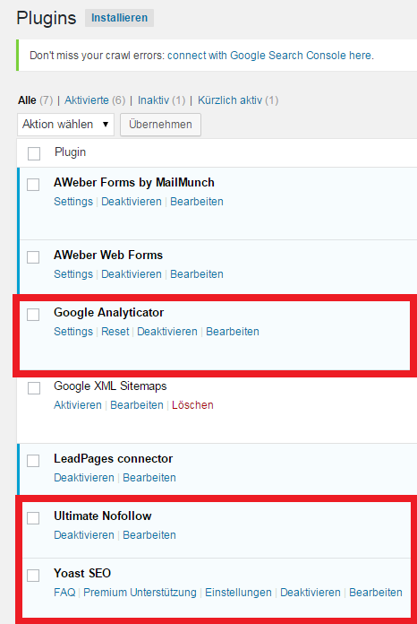 wordpress tutorial deutsch