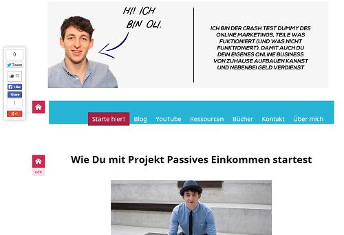 Projekt Passives EInkommen